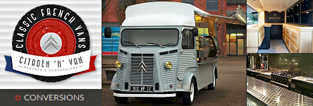 Classic French Vans - Citroen H Van Catering Conversions