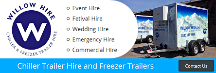 Willow Hire - Chiller Trailer Hire and Freezer Trailers