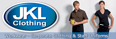 JKL Clothing - Workwear - Corporate Clothing - Staff Uniforms
