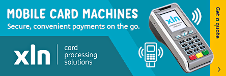 XLN Card Processing Solutions - Mobile Card Machines