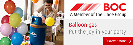 BOC Ltd - Balloon Gas - Put the Joy in Your Party