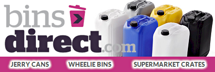 Bins Direct - Jerry Cans and Waste Bins