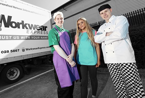 Link to the Workwear Express Ltd website