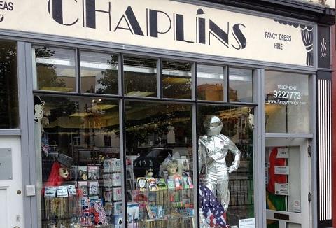 Link to the Chaplins Fancy Dress website
