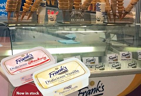 Link to the Frank's Ice Cream Ltd website
