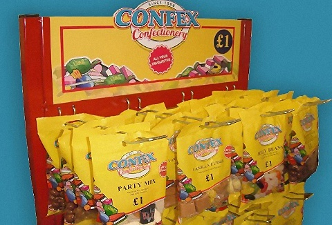Link to the Confex Confectionery Ltd website