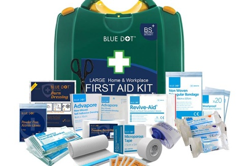 Link to the First Aid Warehouse website