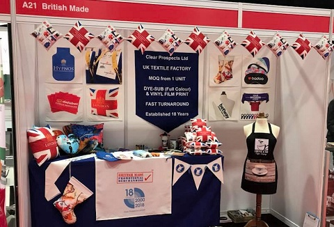 Link to the British Made Promotional Merchandise website